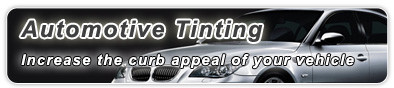 Window Tinting Automotive