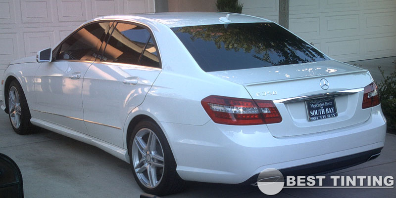 Mercedes Window Tinting by Best Tinting